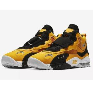 Nike Air Max Speed Turf Yellow Gold Black Sz 12